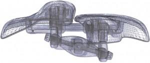 Aufbau Wings Fahrradsattel