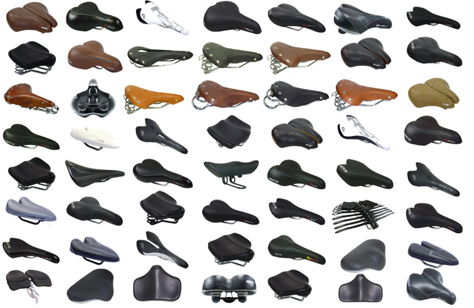 Voor een overzicht van alle aangeboden fietszadels open:
